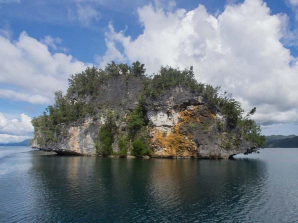 Raja Ampat Kalkstein Insel