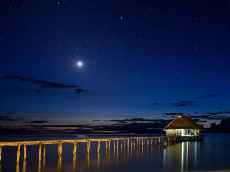 Raja Ampat by night