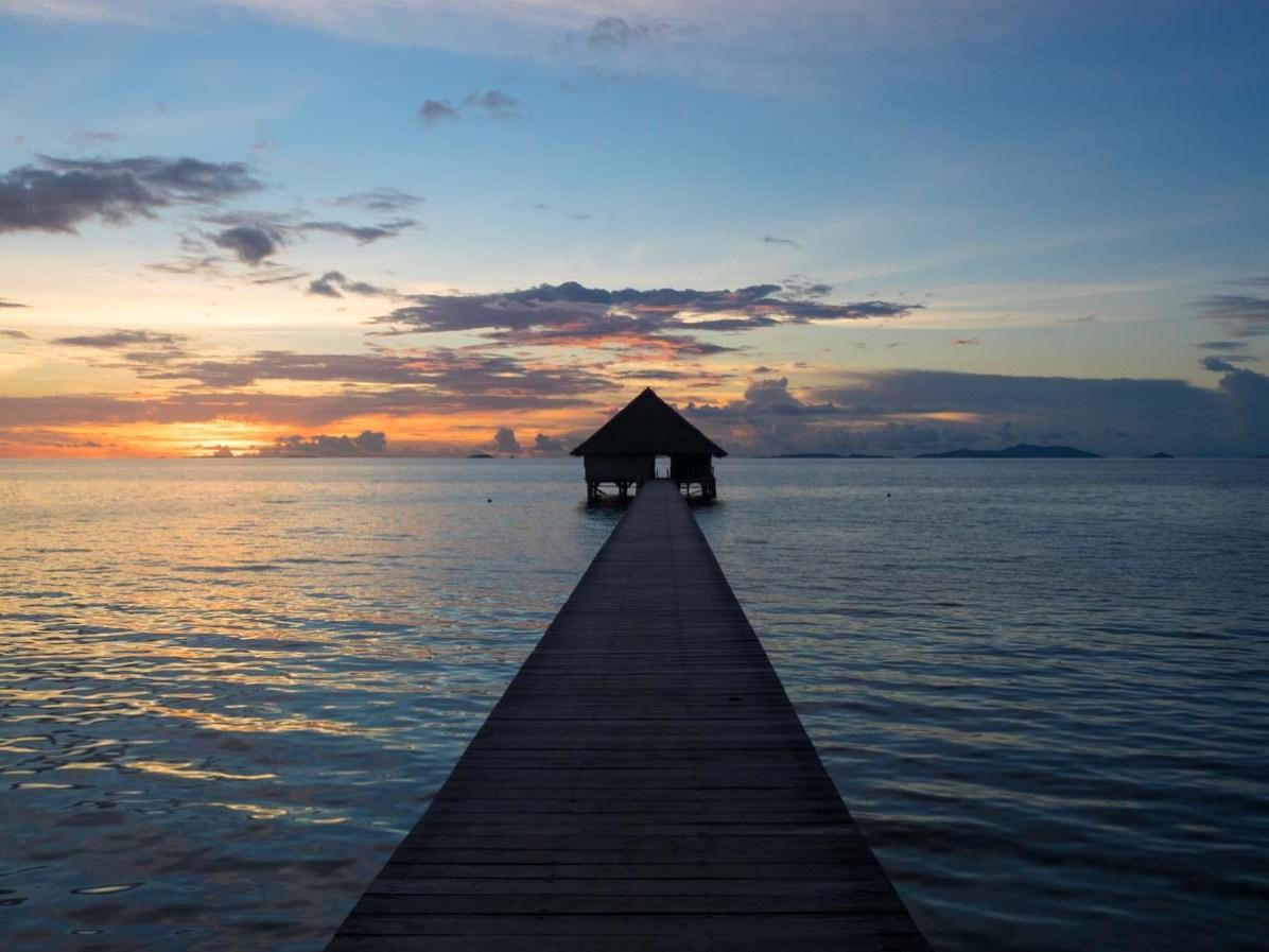 Steg Pulau Pef Raja Ampat