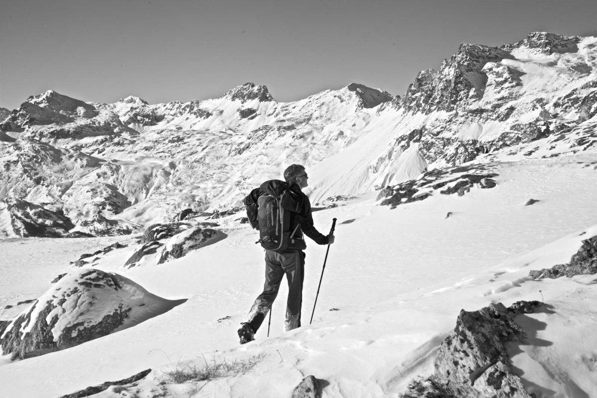 Outdoor Butler Schneeschuhwanderung Engadin 04