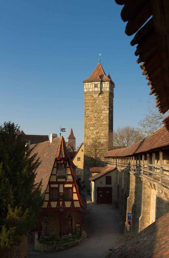 Stadtmauer Rothenburg