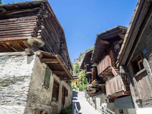 Der ursprüngliche Alpencharme von Zermatt
