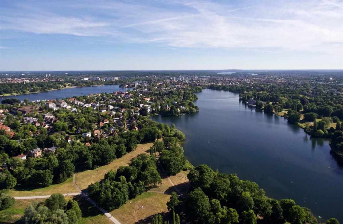 Potsdam von oben