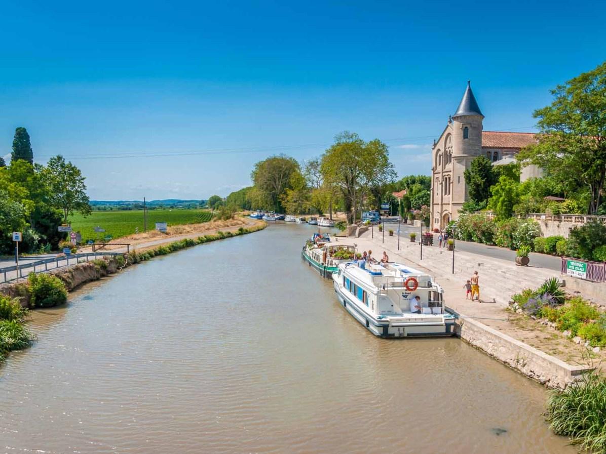 LeBoat Südfrankreich Hausboot