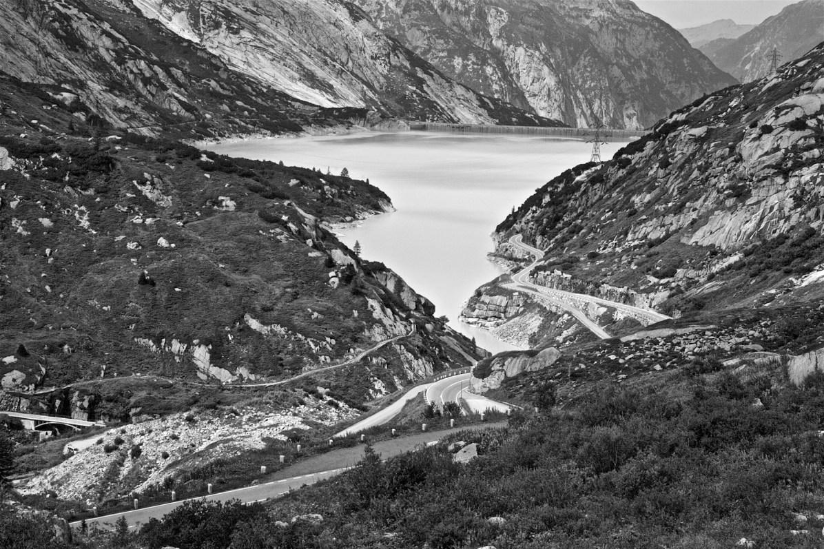 Maenner Motorrad Wochenende Schweiz Alpen 17