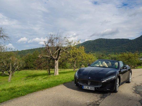 Mit dem Maserati GranCabrio Sport Baden Würtenberg entecken