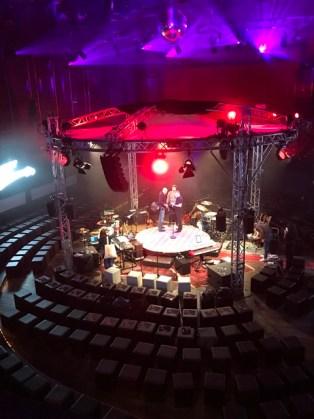 Die 360° Bühne an der SEAT Music Session