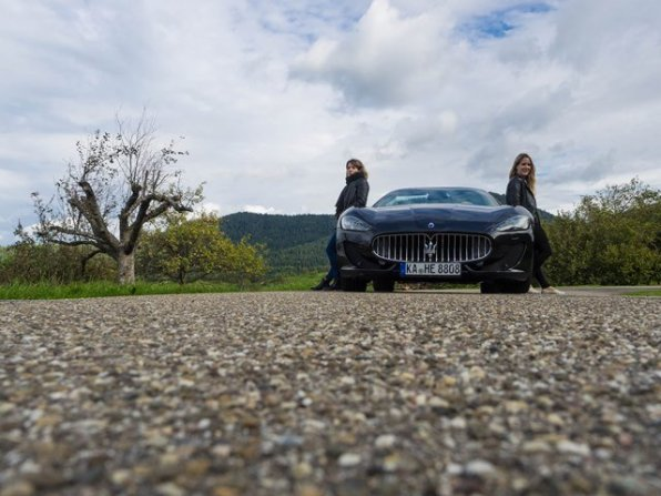 Unterwegs auf der Schwarzwaldhochstrasse mit dem Masarati