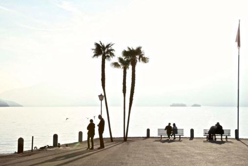 Lago Maggiore im Herbst