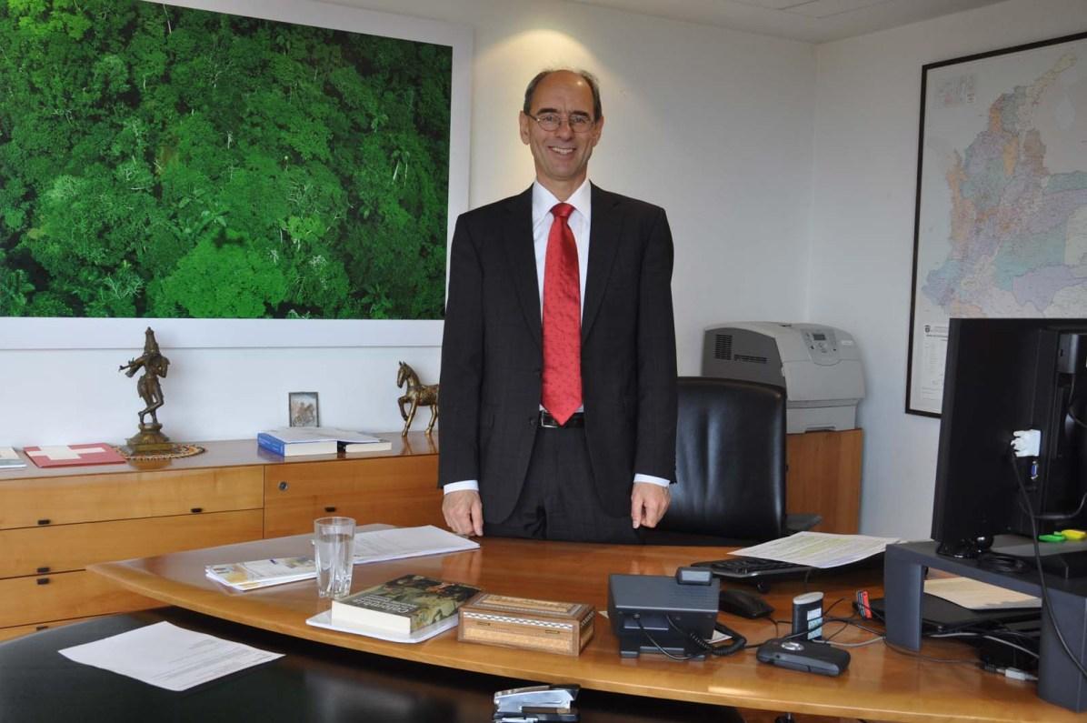 Unser Botschafter in Kolumbien: Kurt Kunz