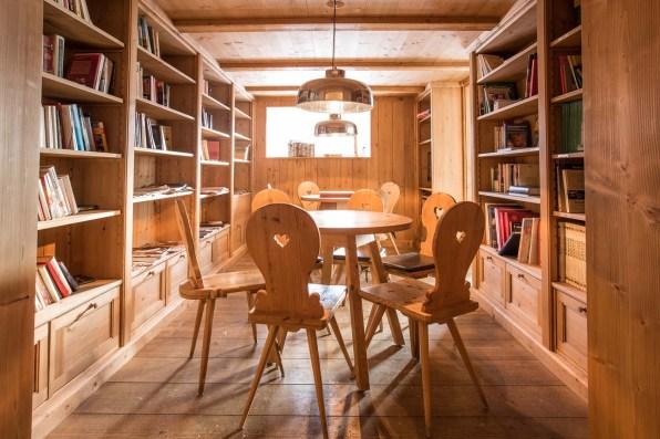 Guarda Val Hotel Lenzerheide charmant Bibliothek