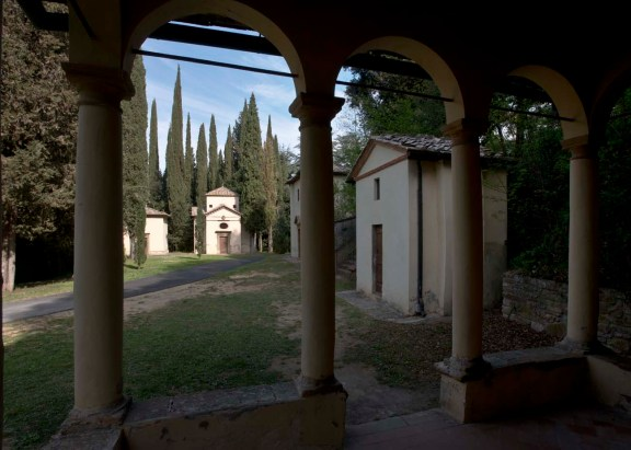 Zu Gast auf dem heiligen Berg: San Vivaldo