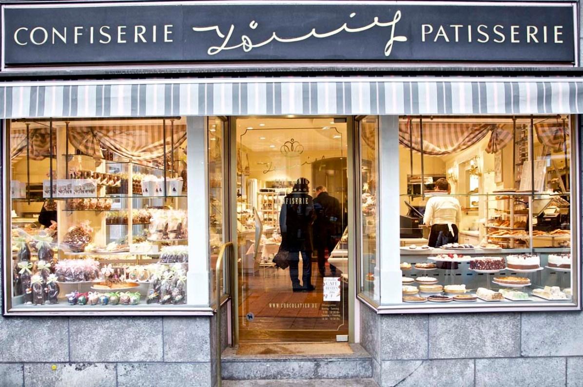 Die süsse Versuchung in Baden-Baden: das Café König.