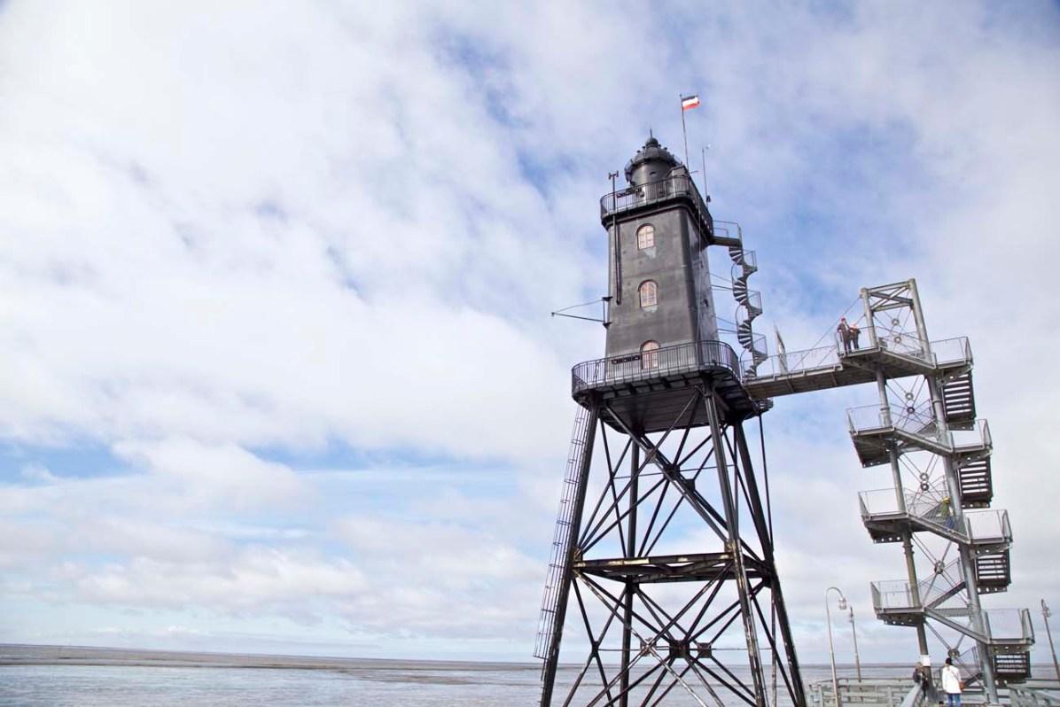 Der Leuchtturm Obereversand