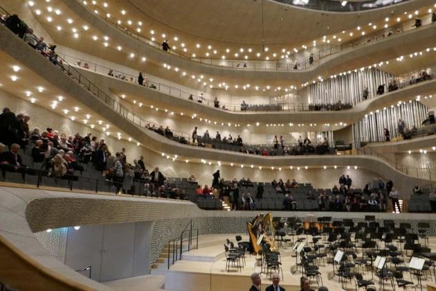 Der Konzertsaal der Hamburger Elbphilharmonie