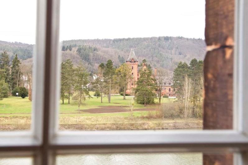 Früher ein Schloss, heute ein Hotel.