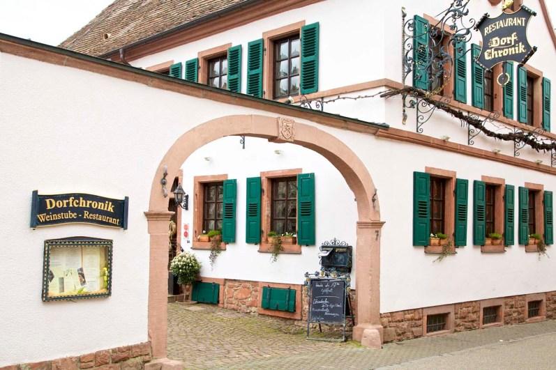 Unser Restauranttip: die Dorfchronik.