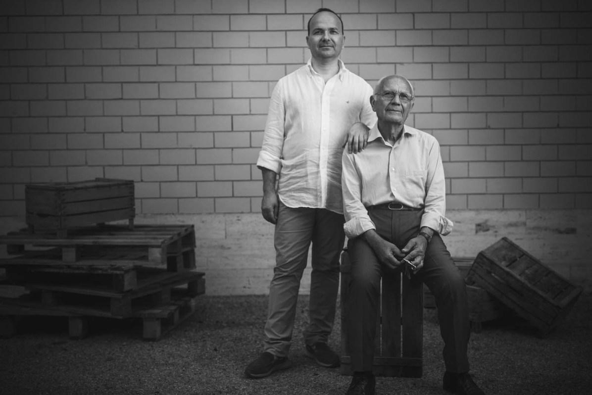 Sohn und Vater - Roberto und Orazio