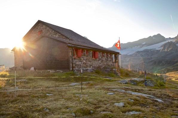 Die Grialetschhütte