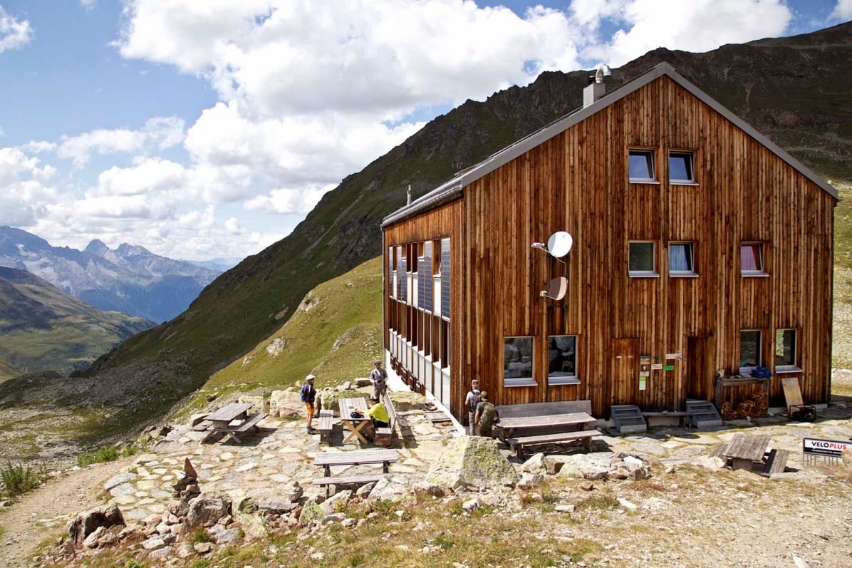 Die Kesch-Hütte.