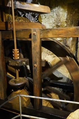 Diese alte Mühle funktioniert heute noch, ist aber nicht mehr in Betrieb. © Eva Hirschi