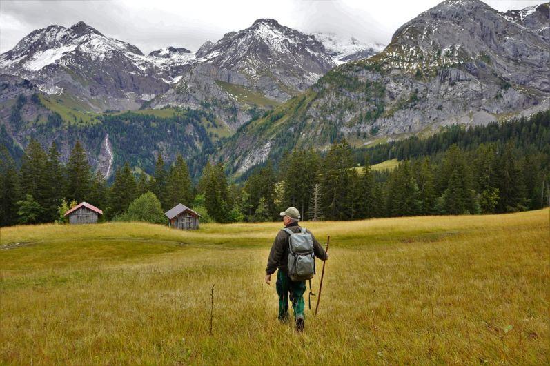 Christian Würsten kennt die Gegend wie seine Westentasche. © Eva Hirschi