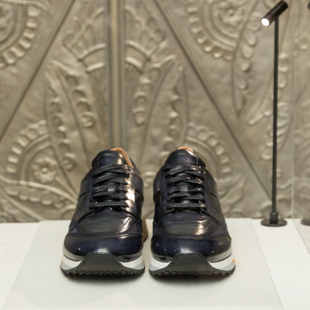 santoni calzature uomo modello sneakers estive