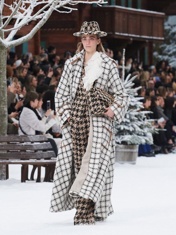 Chanel autunno inverno 2019 2020  sfilata  collezione
