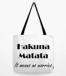Tote Hakuna Matata