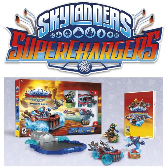 Skylanders Superchargers Selection Of Newly Released Figures And Vehicles