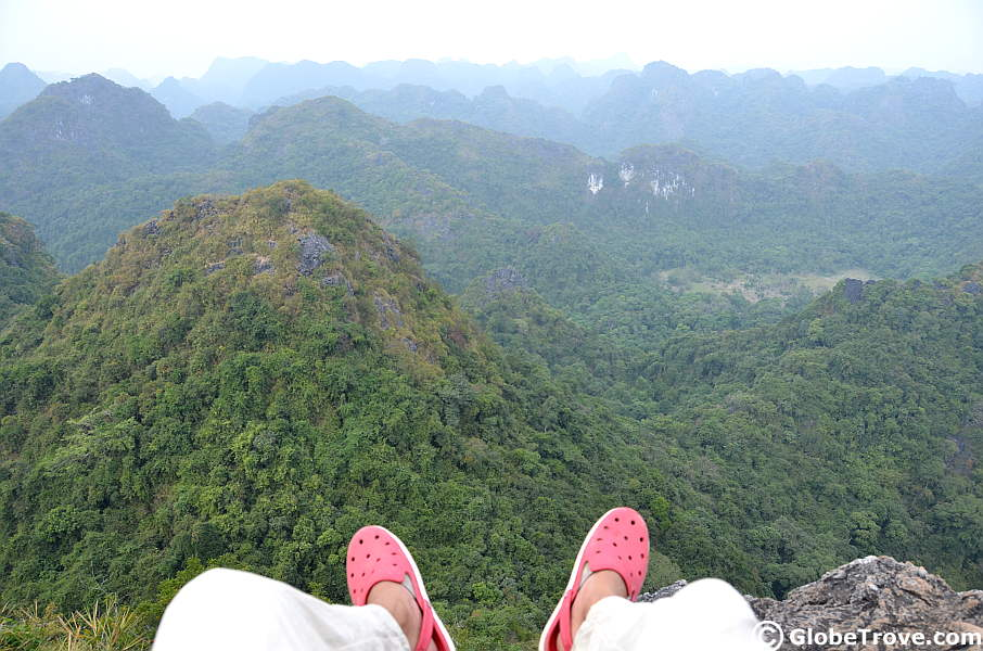 Cat Ba National Park in Vietnam
