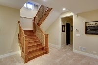 Stair | Basement-Staircase | New Custom Homes | Globex ...