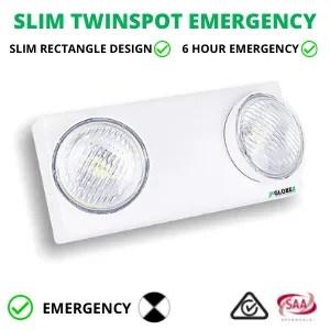 SLIM TWINSPOT EMERGENCY