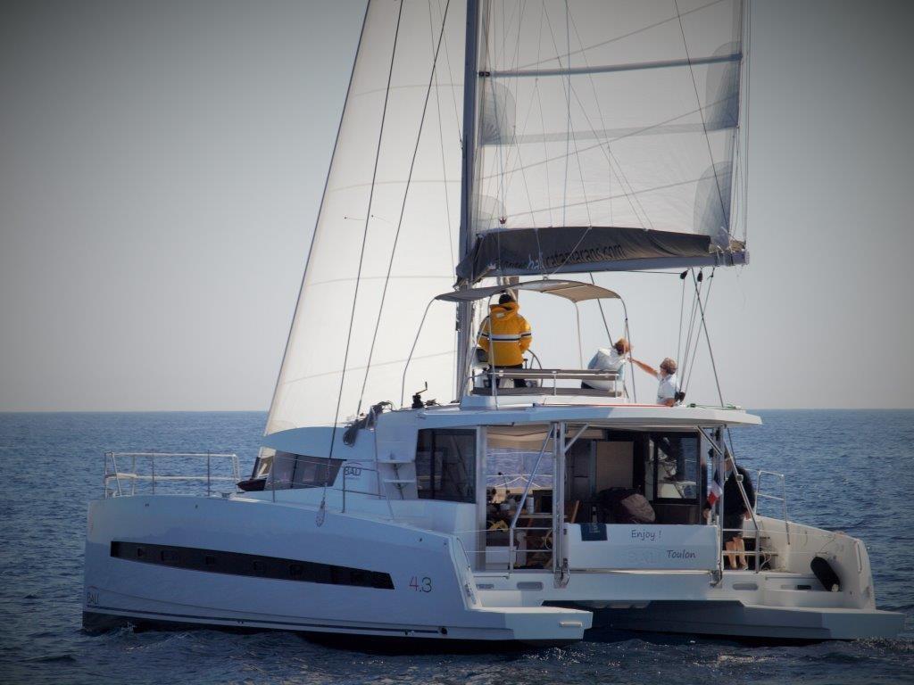 Bali 43 Luxury Yacht Charter Croatia Greece Globe