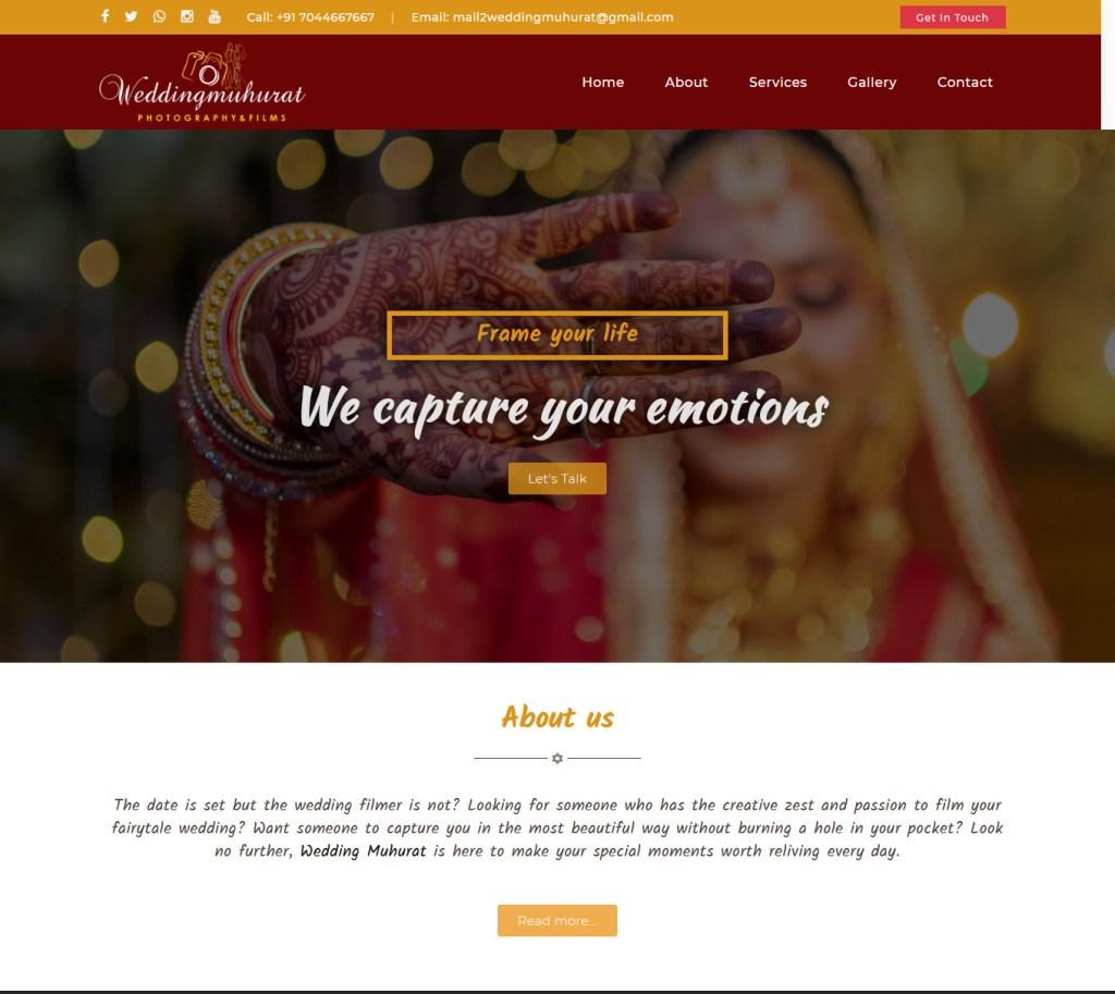 Wedding Muhurat - Photography Films