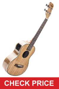 Caramel CT103 Gloss Tenor Electric Ukulele