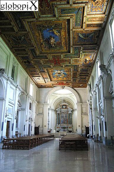 FOTO ROMA VIA APPIA ANTICA  BASILICA DI SAN SEBASTIANO 2