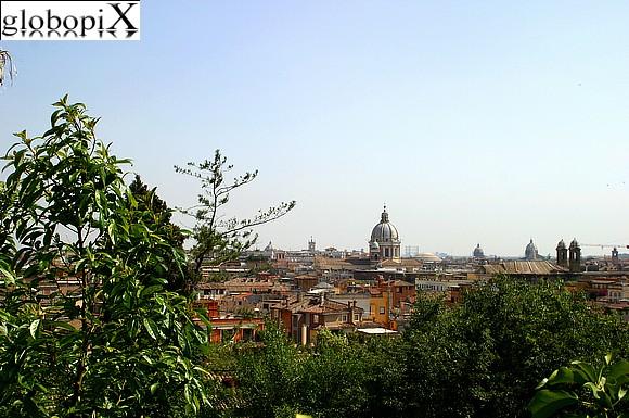 FOTO ROMA VISTA DI ROMA DAL PINCIO 3  Globopix
