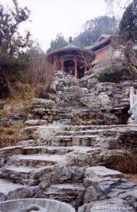 Beijing China - Rock Garden in Beihai Park - GLOBOsapiens