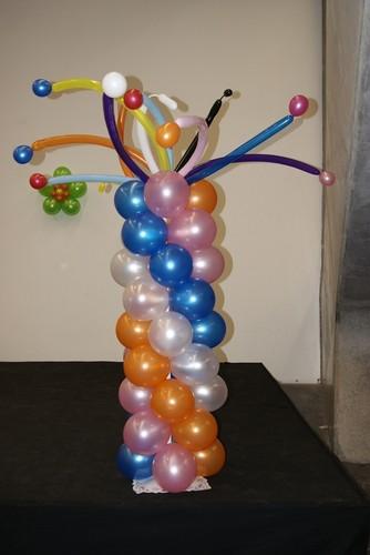 Torres y Columnas de globos  Decoracin con Globos