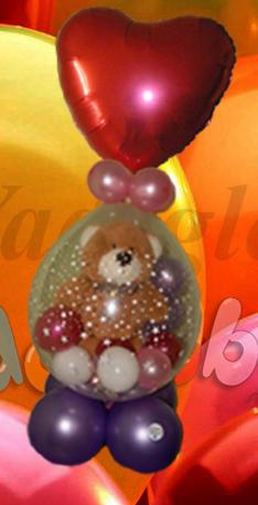 Regalos para San Valentn  Decoracin con Globos Regalos