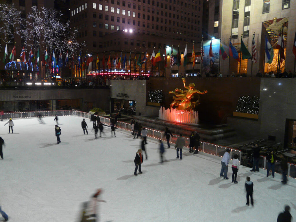 Patinaje Rockefeller Center