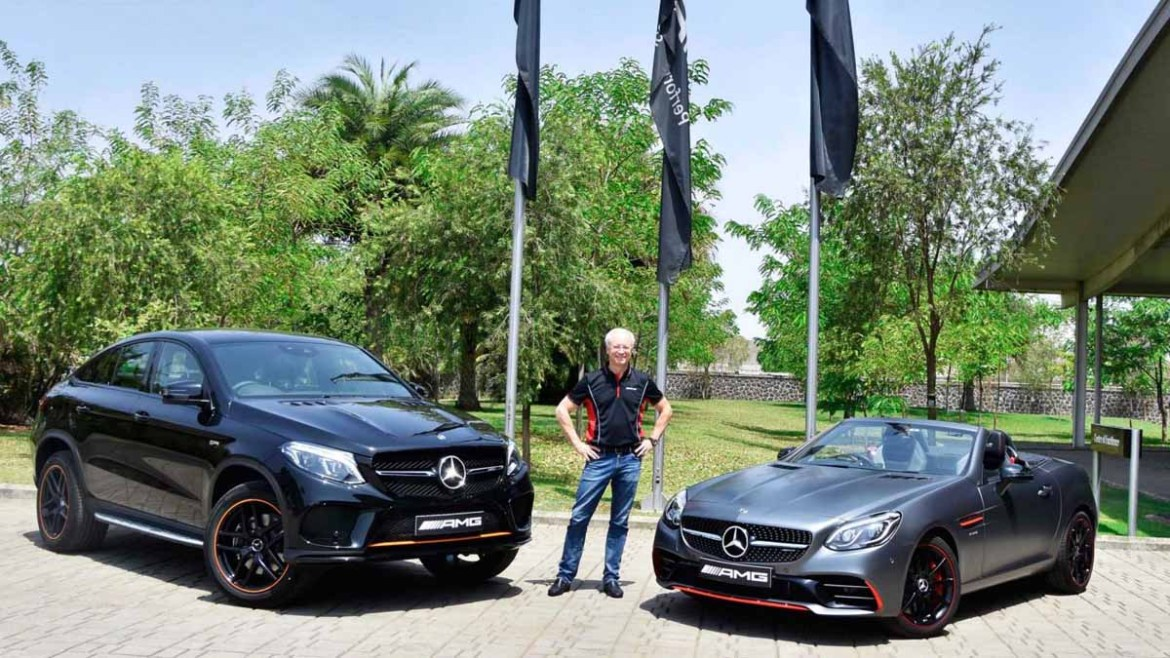 Mercedes-AMG launches the GLE 43 4MATIC Coupe 'OrangeArt' and SLC 43 'RedArt' limited edition cars in India