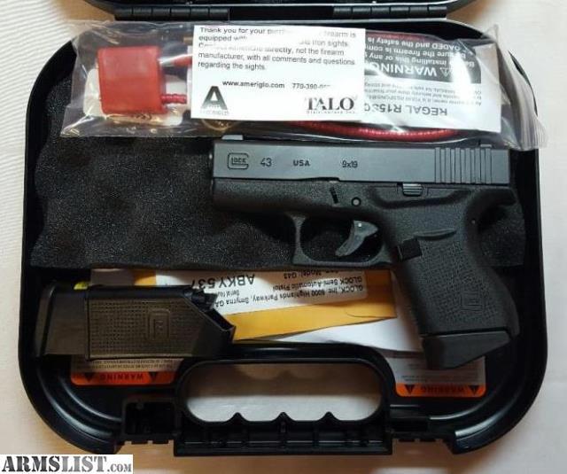 glock 43 talo the