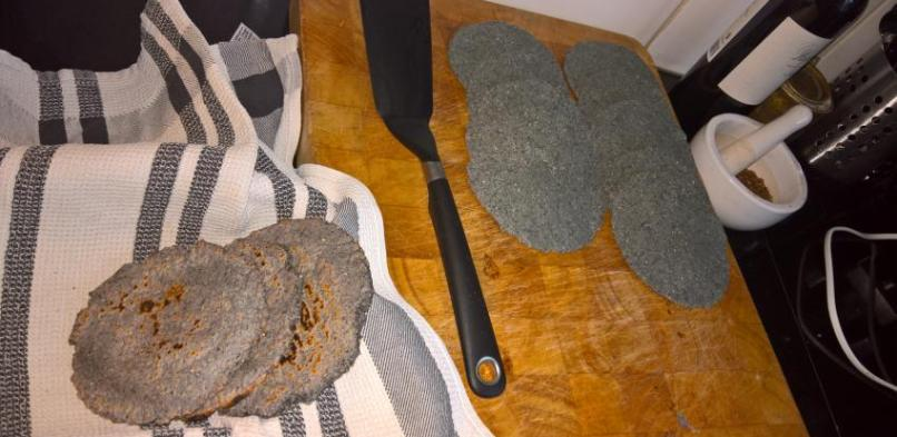 Blue Corn Tortilla's