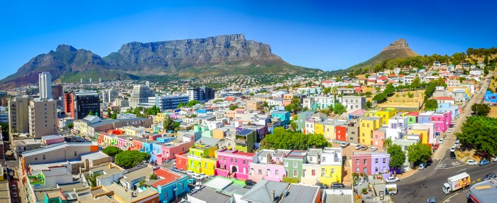 Cape Town's colourful Bo-Kaap neighbourhood