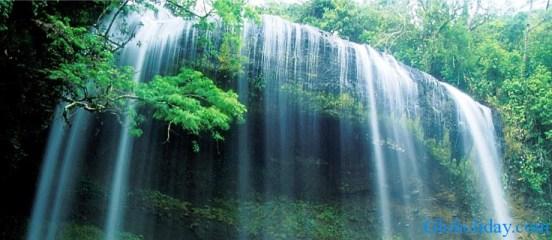 Waterfall Palau Micronesia