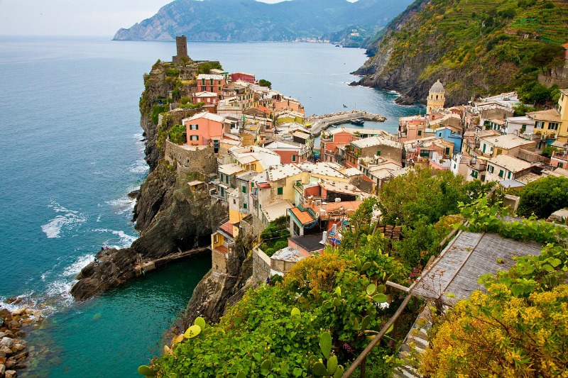 Cinque Terre, Rio, Italy - the most beautiful places in the world