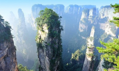 The Split Pinnacles in China