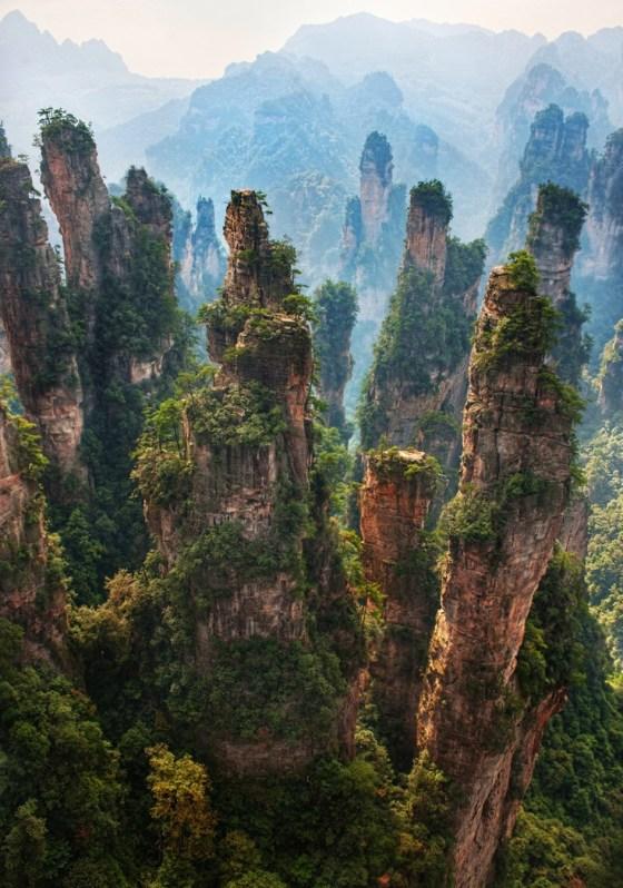 Tianzi Mountains, China